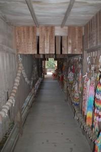 本堂・大師堂の回廊