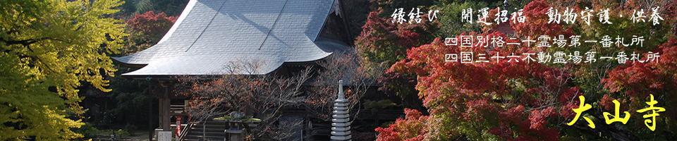 画像: 大山寺 四国別格霊場第一番札所